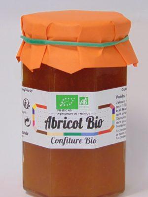 Confiture d'Abricot Bio