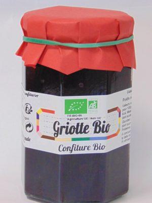 Confiture de griotte Bio