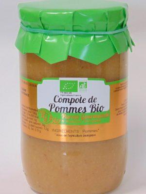 Compote de Pommes Bio – 72cl