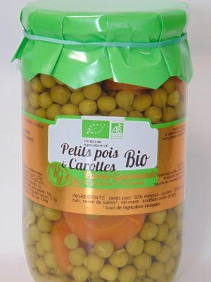 Petits Pois & Carottes Bio – 72cl