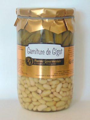 Garniture Gigot (haricots verts et flageolets) – 72cl