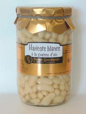 Haricots Blancs Lingots cuisinés à la graisse d'oie – 72cl