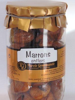 Marrons sous vide – 72cl