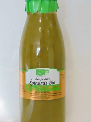 Soupe aux Epinards Bio