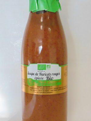Soupe de Haricots rouges épicée Bio – 75cl