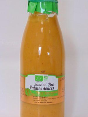 Soupe de patates douces Bio – 75cl