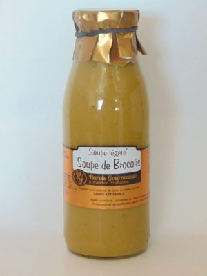 Soupe Légère de Brocolis – 50cl