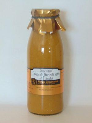 Soupe Légère de haricots vert et Tomates – 50cl