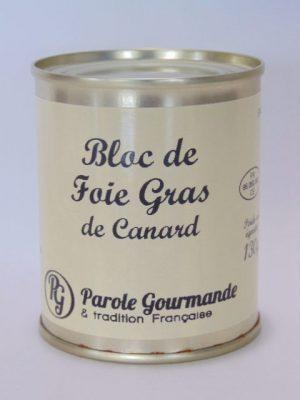 Bloc de foie gras de canard – Boîte