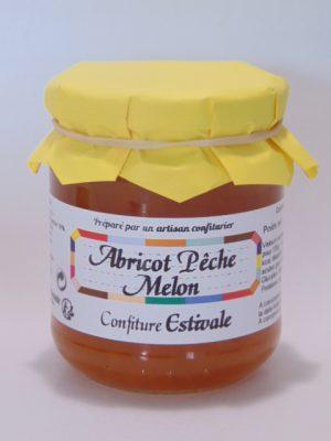 Confiture Estivale (abricot pêche melon)