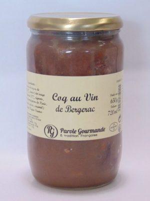 Coq au Vin de Bergerac – 72cl – 650g