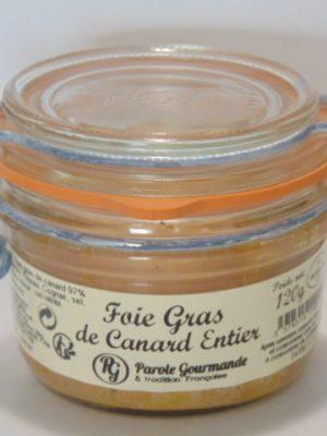 Foie Gras de canard entier – Bocal parfait