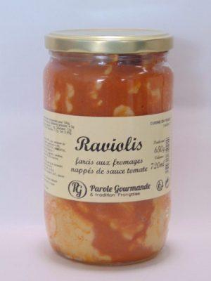 Raviolis au fromage – 72cl – 670g