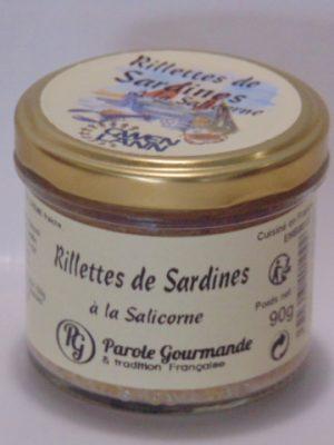 Rillettes de Sardines – 13cl – 90g