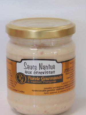 Sauce Nantua aux écrevisses – 180g – 21cl