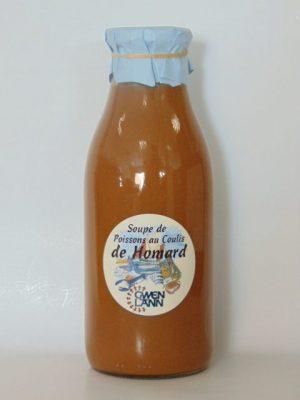 Soupe de Poissons au Coulis de Homard – 100cl
