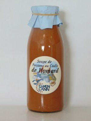 Soupe de Poissons au Coulis de Homard – 50cl