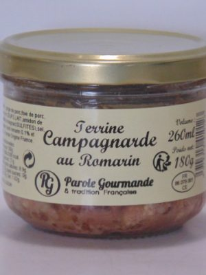 Terrine Campagnarde au Romarin – 26cl