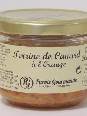 Terrine de Canard à l'Orange – 26cl