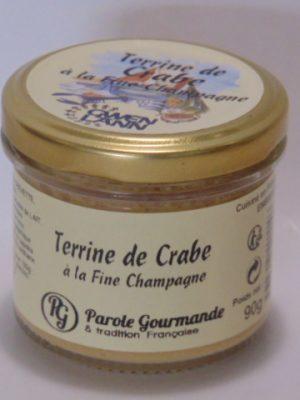 Terrine de Crabe au Marc de Champagne – 13cl – 90g