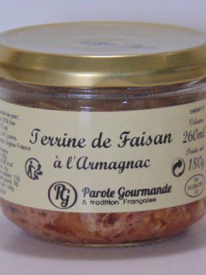 Terrine de Faisan à l' Armagnac -26cl
