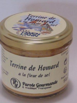 Terrine de Homard à la fleur de Sel – 13cl – 90g