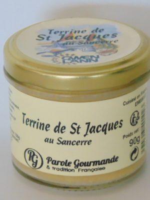 Terrine de Saint Jacques au Sancerre – 13cl- 90g