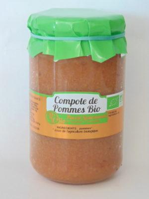 Compote de pommes Bio – 37cl